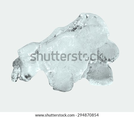 Ice. Chunk of ice  - stock photo