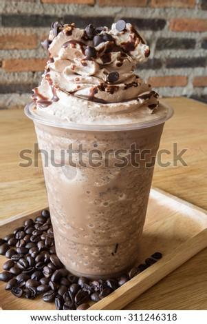Ice coffee blend  - stock photo