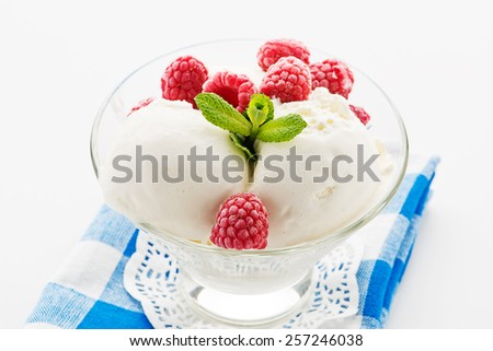 Ice cream. - stock photo