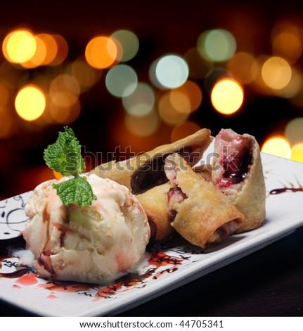 ice-cream - stock photo