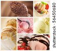 Ice Cream Set - stock photo