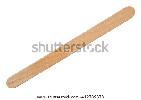 Ice cream sticks - stock photo