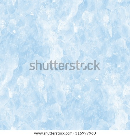 ice crystals - seamless background - stock photo