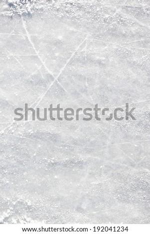 Ice hockey field background - stock photo