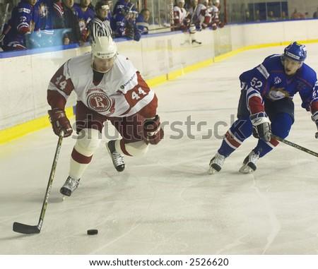 Ice Hockey. Frame #201 - stock photo