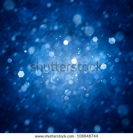 Ice lights. Abstract winter backgrounds - stock photo
