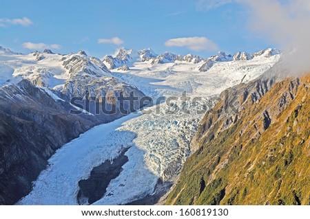 Ice mountain - stock photo