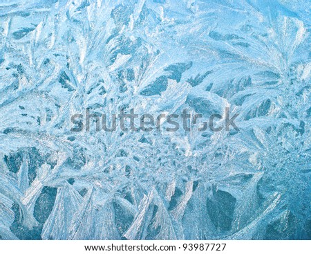 ice natural background