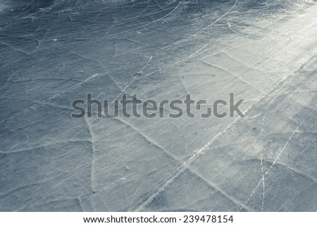 ice skate abstract background at Medeo - stock photo