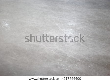 Ice skate floor - stock photo