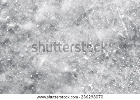 Ice surface background - stock photo