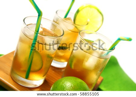 Ice tea - stock photo