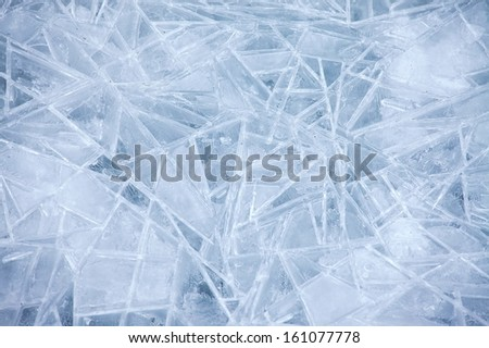 Ice texture - stock photo