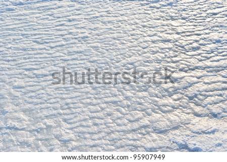 Ice texture background - stock photo
