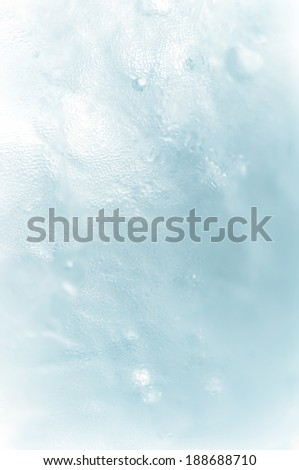 ice water texture background - stock photo
