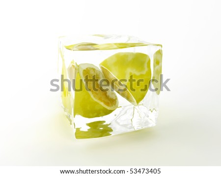 Ice with Lemon