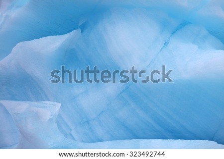 Iceberg background - stock photo