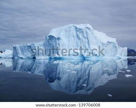 Iceberg in Greenland - stock photo