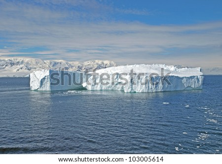 Iceberg in the Gerlache Strait of the Antarctic Peninsula