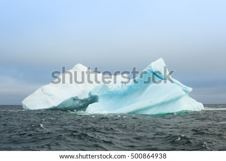 Iceberg in the Laptev Sea