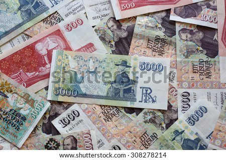 Icelandic Currency - stock photo