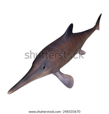 Ichthyosaurus - stock photo