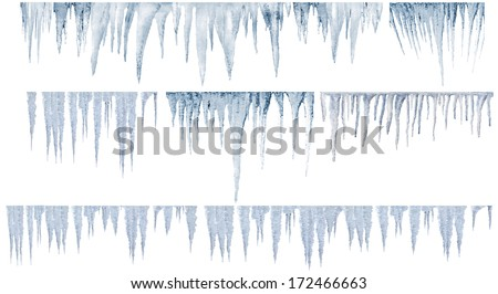 icicles numbers of different and real type