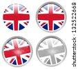 icon uk flag series - stock photo