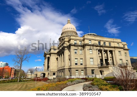 Idaho State capital