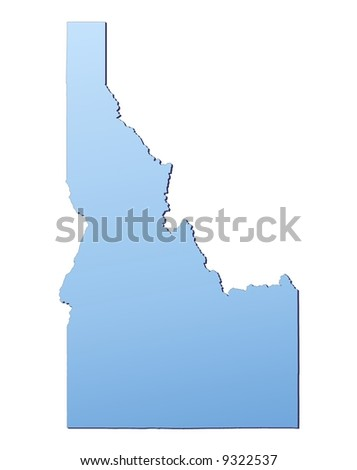 Idaho Map Stock Images RoyaltyFree Images Vectors Shutterstock - Free high resolution us map
