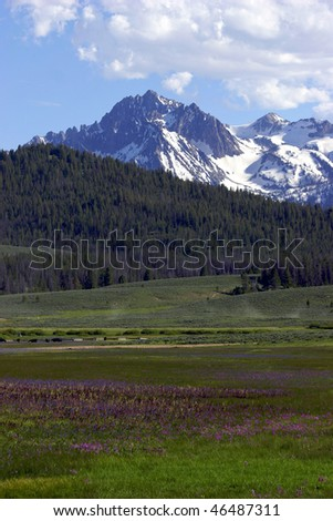 Idaho Valley - stock photo