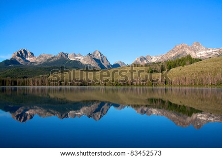 Idaho wilderness - stock photo