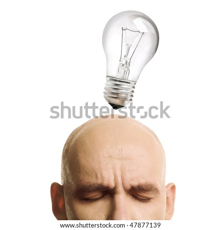 idea concentration - stock photo