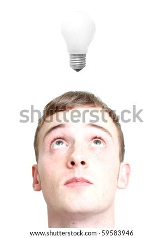 Idea generation - stock photo
