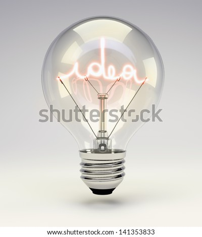 Light Bulb Idea Stock Images Royalty Free Images