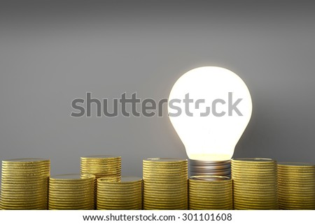 idea make money concept
