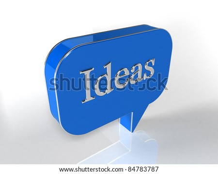Ideas - stock photo