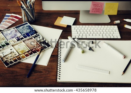 Notebook Design Studio Stock Images, Royalty-Free Images & Vectors ...