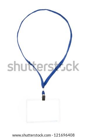Identification card - stock photo