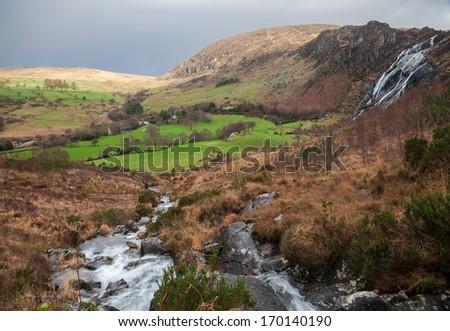 Idyllic Irish Countryside - stock photo
