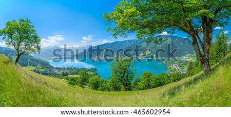 Idyllic Zell am See in early summer, Austria
