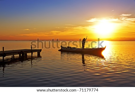 if the sun goes down I also - stock photo