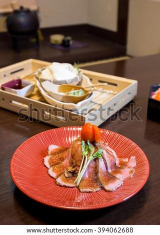 Igarashi's Sushi Japanese Restaurant - stock photo
