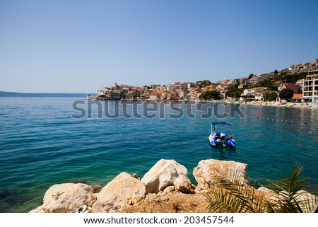 Igrane-small village in Croatia, best place for hoolidays.