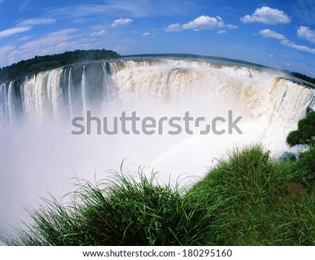 Iguassu Falls, South America - stock photo