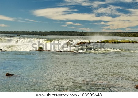 Iguasu Falls - stock photo