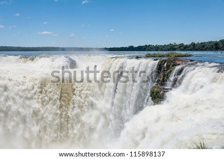 Iguazu falls, View from Argentinian side