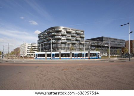 Modern Architecture Netherlands modern futuristic architecture netherlands stock photo 22546390