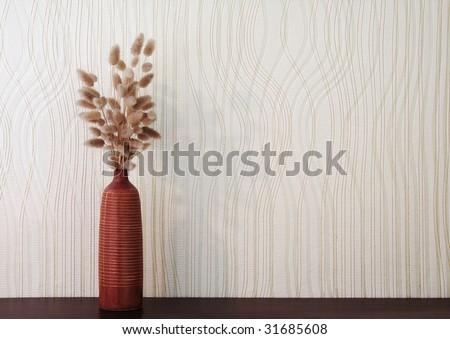 ikebana on table - stock photo