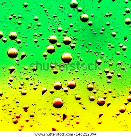 Illustration. Abstract background of raindrops. - stock photo
